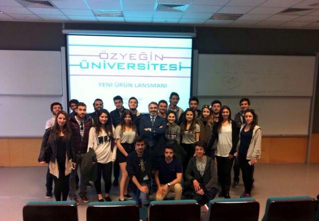 14 Nisan 2015 - Özyeğin Üniversitesi - Pazarlama workshop