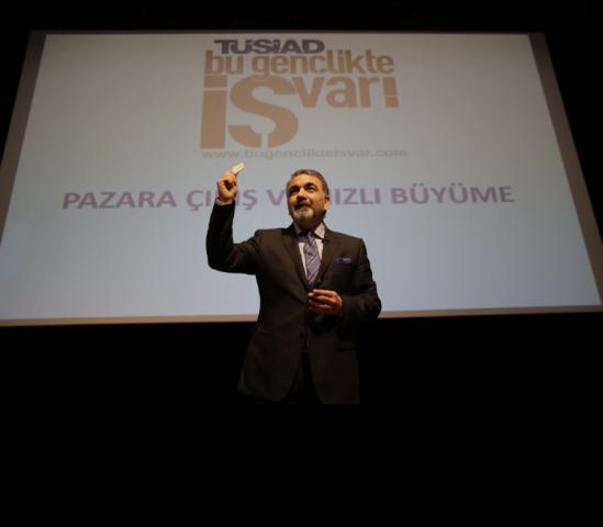 """11 Şubat 2016 - TÜSİAD - Koç Üniversitesi - """"Bu Gençlikte İş Var"""" Eğitim Kampı"""