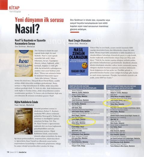 01 şubat 2013 – mediacat dergisi şubat sayısı
