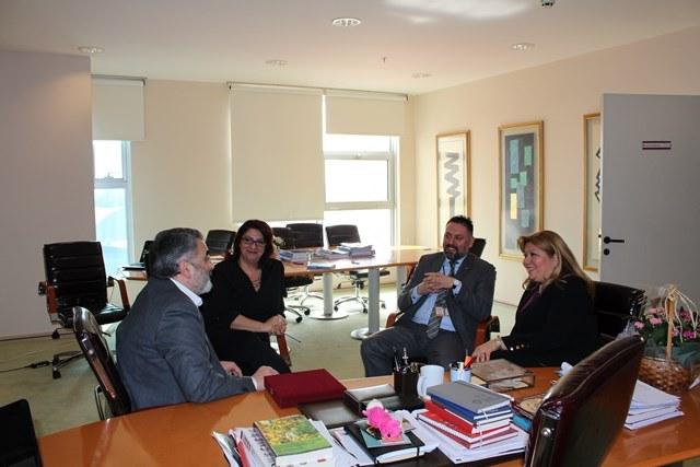 02 Mart 2015 - İstanbul Kültür Üniversitesi - Prof. Dr. Rengin Küçükerdogan, Prof. Dr. Işıl Zeybek ve Yard.Doç.Dr.Volkan Ekin ile birlikte