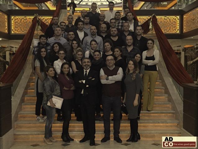 05 Ocak 2016 - ADCO - Kıbrıs Toplantısı - İleri Düzey Satış Eğitimi