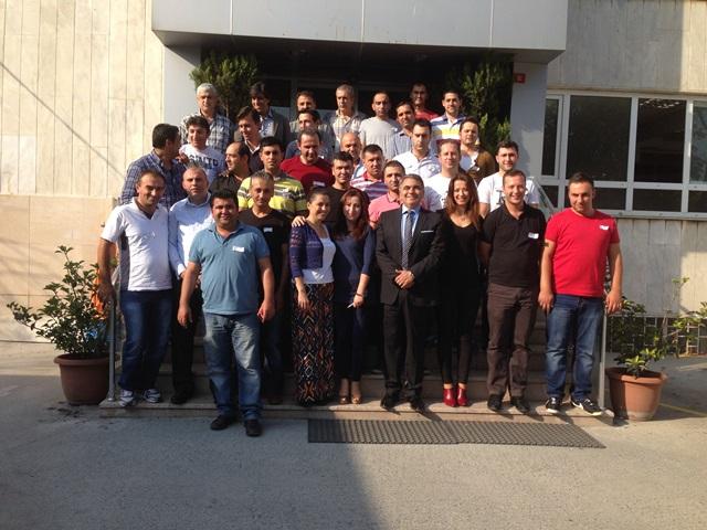 28 Eylül 2013 - Arpacıoğlu Gıda ve İtr. A.Ş. Satış Eğitimi