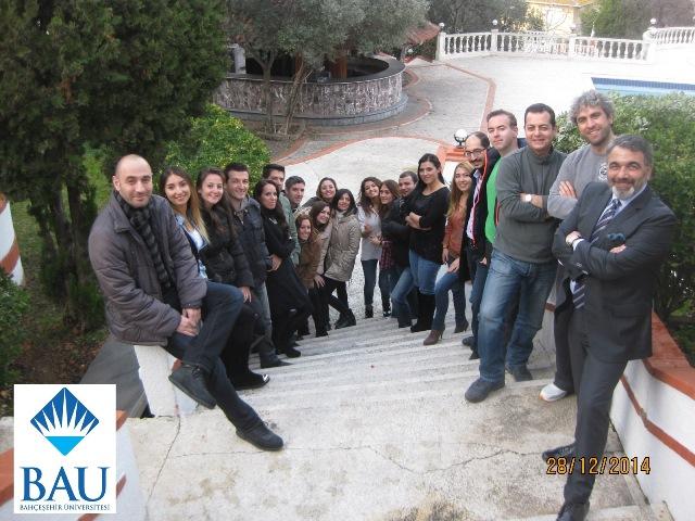 """28 Aralık 2014 - Bahçeşehir Üniversitesi Executive MBA Programı """"Kişisel Gelişim"""" Semineri"""
