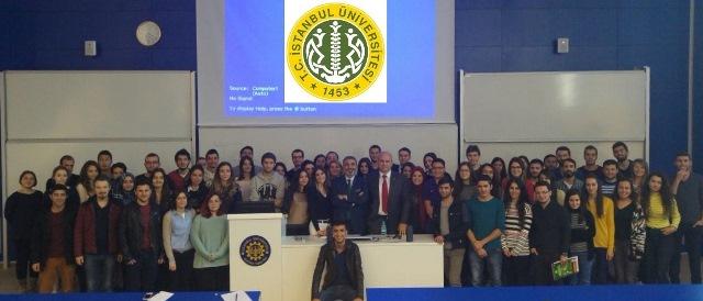 14 Aralık 2015 – İstanbul Üniversitesi, İşletme Fakültesi – Stratejik Yönetim Dersi
