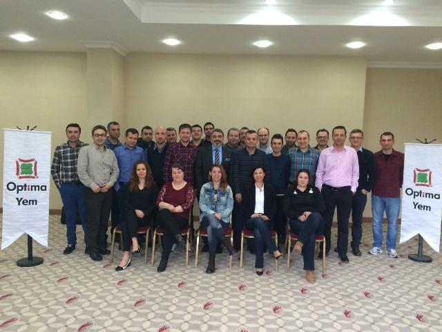 """14-15 Mart 2015 - Optima Yem - """"Temel Satış Eğitimi"""" - Silivri"""