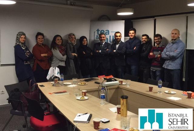 15 Aralık 2015 – İstanbul Şehir Üniversitesi – Uluslararası Ticaret ve İşletmecilik Bölümü – Tea&Talk – Kitap Analizi