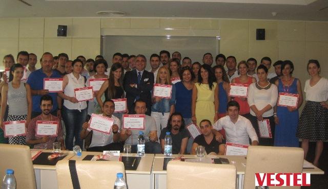 """15 Ağustos 2014 - VESTEL Promotörler Ekibi """"Müşteri İlişkileri ve Kişisel Satış Teknikleri Eğitimi"""""""