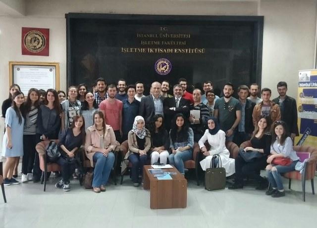 30 Nisan 2015 - İstanbul Üniversitesi, İşletme Fakültesi, İşletme İktisadı Enstitüsü - Yeni Ürün Lansmanı Sunumu