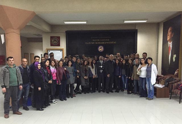 17 Kasım 2015 - İşletme Fakültesi - İşletme İktisadı Enstitüsü
