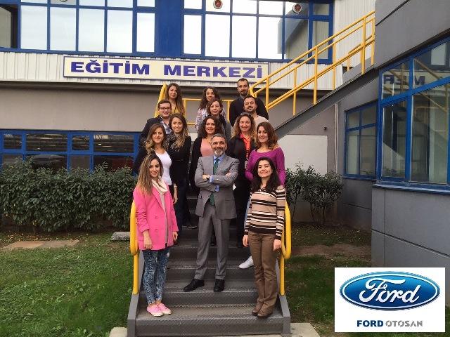 21 Kasım 2015 - Ford Otosan - Gölcük - Tedarik Zinciri Yöneticileri Satış Eğitimi