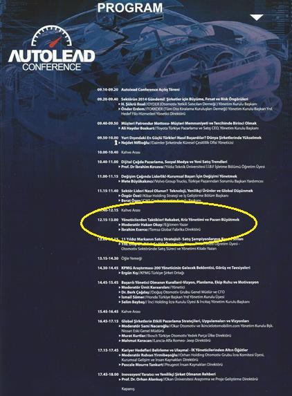AUTOLEAD CONFERENCE 1 - a