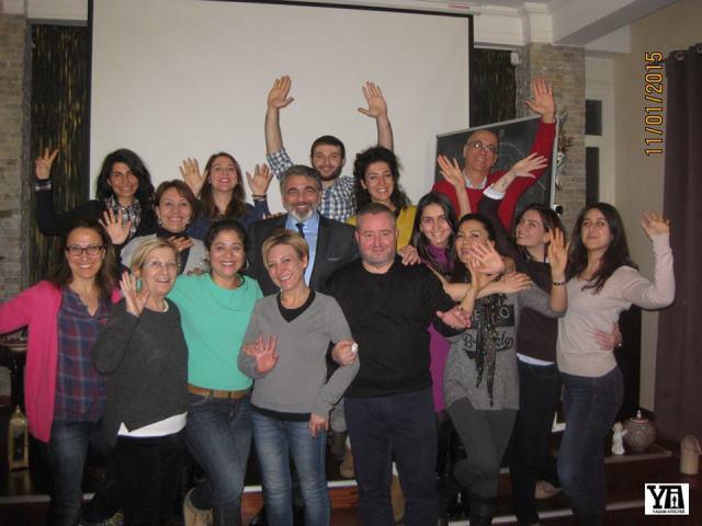 """11 Ocak 2015 - Yaşam Atölyesi - Kişisel Dönüşüm Eğitmenleri Eğitimi """"Temel Satış ve Pazarlama"""" Semineri"""