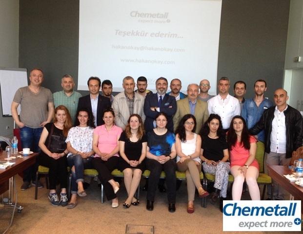 05 Mayıs 2015 - Chemetall - Kurumiçi İletişim Eğitimi - Gebze
