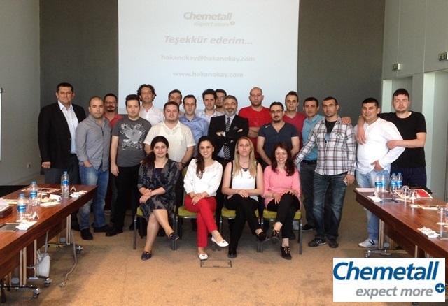 06 Mayıs 2015 - Chemetall - Kurumiçi İletişim Eğitimi - Gebze