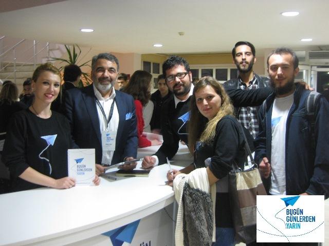 """12 Kasım 2014 - Çanakkale Onsekiz Mayıs Üniversitesi """"Bugün Günlerden Yarın"""""""