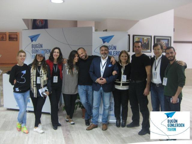 """12 Kasım 2014 - Çanakkale Onsekiz Mart Üniversitesi - Konferans """"Bugün Günlerden Yarın"""""""