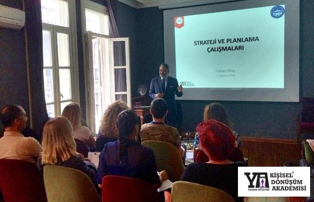 23 Ağustos 2015 - Kişisel Dönüşüm Akademisi - Strateji ve Planlama Eğitimi