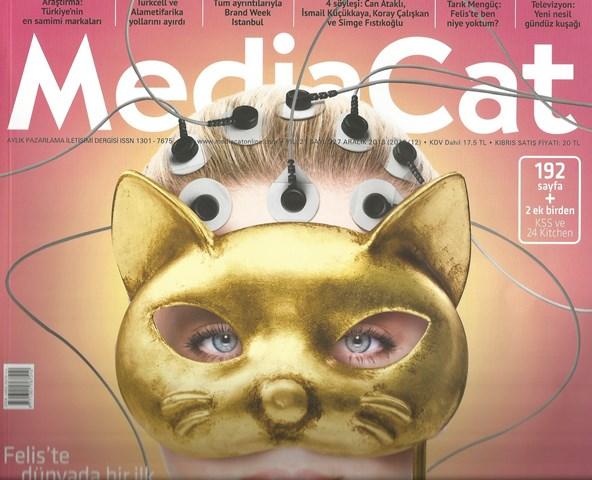 MediaCat Dergisi Aralık 2013 Kapak