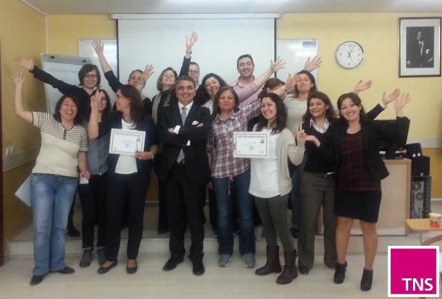 """28 Nisan 2014 - TNS Global """"Satış Arttırıcı Girişimler Eğitimi"""""""
