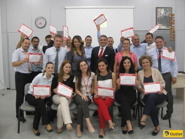 """19 Ağustos 2014 – VS OUTLET Satış Ekibi (4) """"Kurum Kültürü Eğitimi"""""""